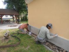 Oprava kaple ve Svinné 2012 - 2014