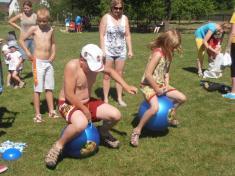 Děti oslavily svůj svátek