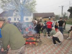 Stavění máje Vranov 2013