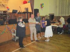 Taneční zábava a vyhlášení vítězů