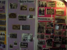 Výstava - historie obce a myslivecké trofeje