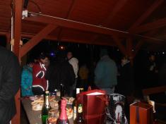 Štědrovečerní punč pod pergolou - Svinná