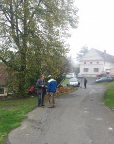 Brigáda na spadané listí Vranov