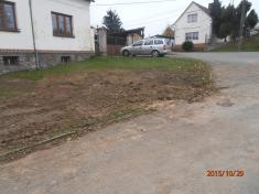 Stavba vodovodu ve Vranově